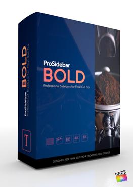 Final Cut Pro Plugin - ProSidebar Bold from Pixel Film Studios