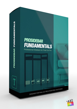 ProSidebar Fundamentals - Professional Description Titles for Final Cut Pro from Pixel Film Studios