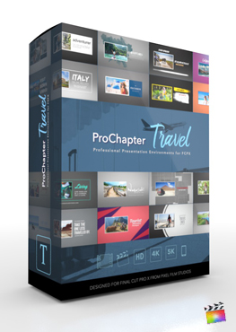 Final Cut Pro X Plugin ProChapter 3D Travel from Pixel Film Studios