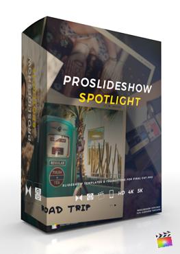 Final Cut Pro X Plugin ProSlideshow Spotlight from Pixel Film Studios