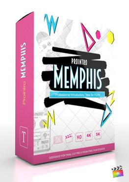 Final Cut Pro X Plugin ProIntro Memphis from Pixel Film Studios