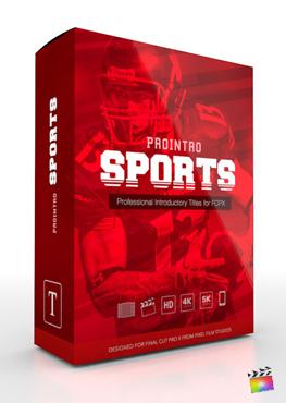 Final Cut Pro X Plugin ProIntro Sports from Pixel Film Studios