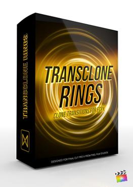 Final Cut Pro X Plugin TransClone Rings from Pixel Film Studios