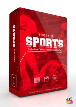 Final Cut Pro X Plugin ProDicator Sports from Pixel Film Studios