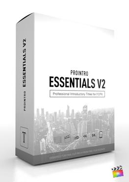 Final Cut Pro X Plugin ProIntro Essentials Volume 2 from Pixel Film Studios
