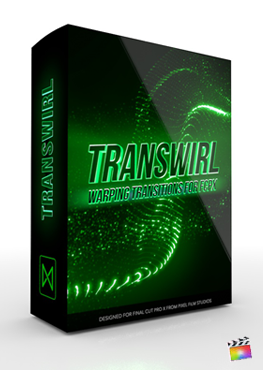 Final Cut Pro X Plugin TranSwirl from Pixel Film Studios
