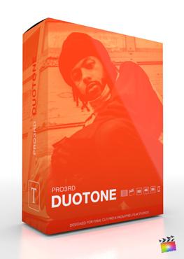 Final Cut Pro X Plugin Pro3rd DuoTone from Pixel Film Studios