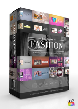 Final Cut Pro X Plugin ProChapter Fashion from Pixel Film Studios