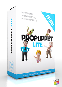 Final Cut Pro X Generators ProPuppet Lite from Pixel Film Studios