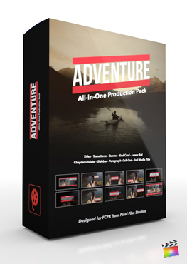Final Cut Pro X Plugin Adventure Production Package from Pixel Film Studios