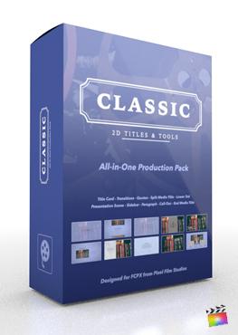 Final Cut Pro X Plugin Classic Production Package from Pixel Film Studios