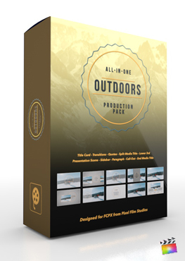 Final Cut Pro X Plugin Outdoors Production Package from Pixel Film Studios