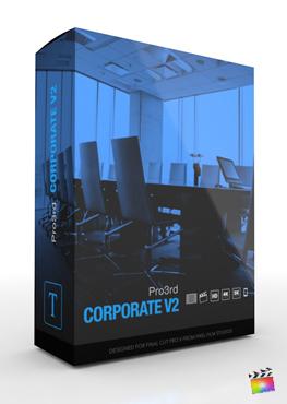 Final Cut Pro Plugin - Pro3rd Corporate Volume 2
