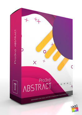 Final Cut Pro Plugin - Pro3rd Abstract