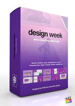 Final Cut Pro X Plugin's Design Week Production Package from Pixel Film Studios