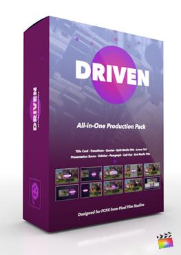 Final Cut Pro X Plugin Driven Production Package from Pixel Film Studios