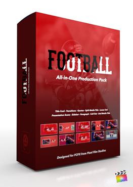Final Cut Pro X Plugin's Football Production Package from Pixel Film Studios