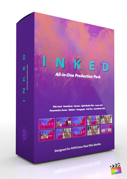 Final Cut Pro X Plugin's Inked Production Package from Pixel Film Studios