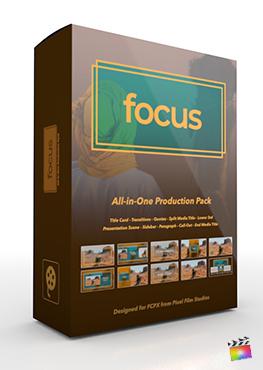 Final Cut Pro X Plugin's Focus Production Package from Pixel Film Studios