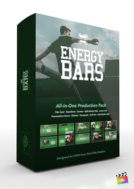 Pixel Film Studios - Energy Bars Production Package