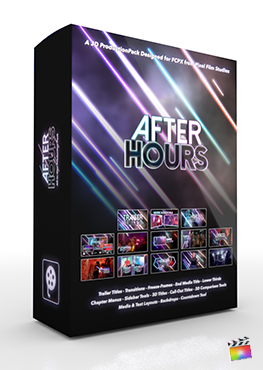Final Cut Pro X Plugin After Hours 3D Production Package from Pixel Film Studios
