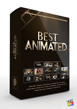 Final Cut Pro X Plugin Best Animated 3D Production Package from Pixel Film Studios
