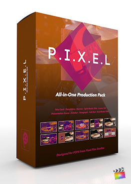 Final Cut Pro X Plugin's Pixel Production Package from Pixel Film Studios