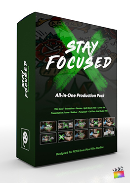 Final Cut Pro X Plugin's Stay Focused Production Package from Pixel Film Studios