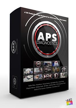 Final Cut Pro X Plugin APS Diagnostics 3D Production Package from Pixel Film Studios