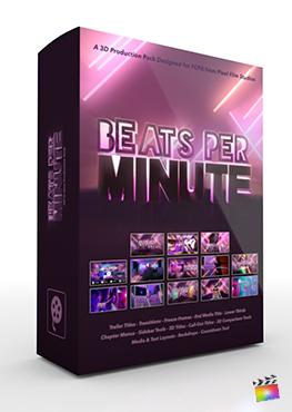 Final Cut Pro X Plugin Beats Per Minute 3D Production Package from Pixel Film Studios