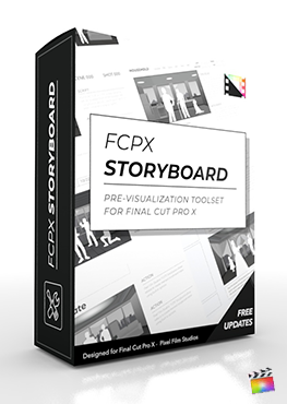 Storyboards for FCPX from Pixel Film Studios