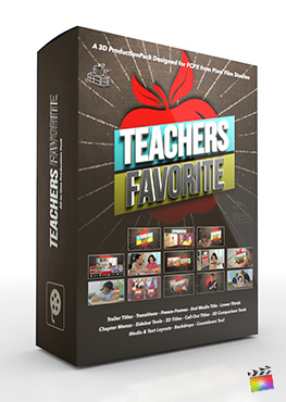 Final Cut Pro X Plugin Teachers Favorite 3D Production Package from Pixel Film Studios