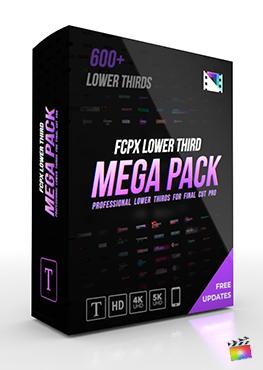Final Cut Pro X Plugin FCPX Title Mega Pack from Pixel Film Studios
