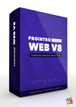Final Cut Pro X Plugin ProIntro Web Volume 8 from Pixel Film Studios