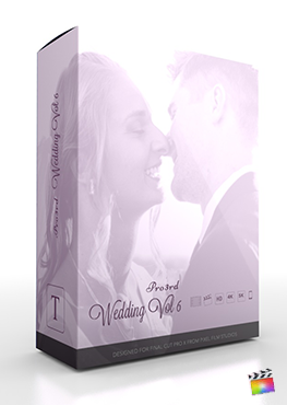 Final Cut Pro Plugin - Pro3rd Wedding Volume 6