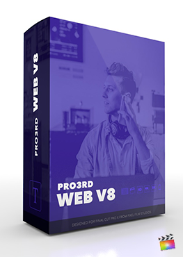 Final Cut Pro Plugin - Pro3rd Web Volume 8 from Pixel Film Studios