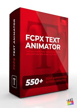 Final Cut Pro X Plugin FCPX Text Animator from Pixel Film Studios