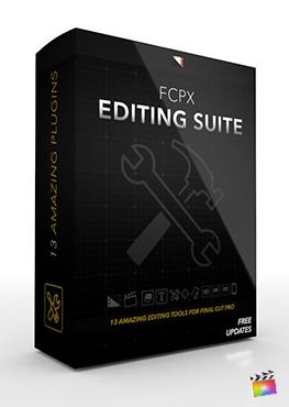 Final Cut Pro X Plugin FCPX Editing Suite from Pixel Film Studios