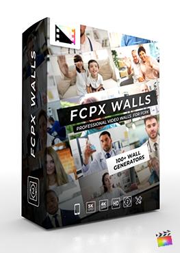 Final Cut Pro X Plugin FCPX Walls from Pixel Film Studios