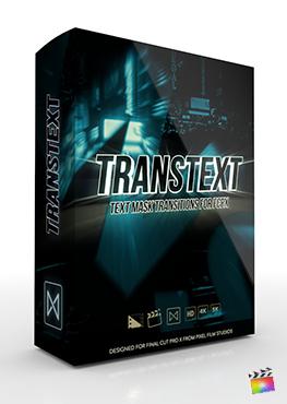 Final Cut Pro X Plugin TransText from Pixel Film Studios