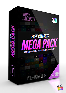 FCPX Callouts Mega Pack