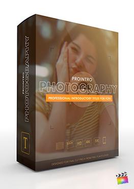 Final Cut Pro X Plugin ProIntro Photography from Pixel Film Studios