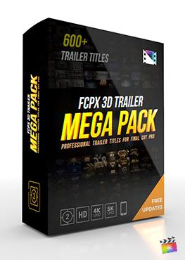 Final Cut Pro X Generators FCPX 3D Trailer Mega Pack from Pixel Film Studios